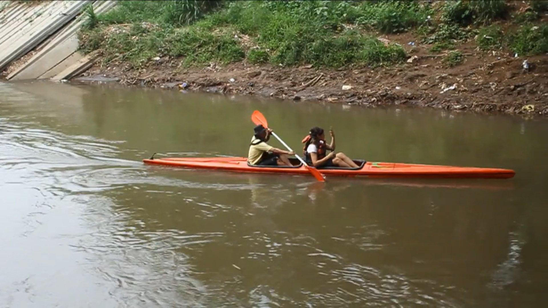 The Ciliwung River